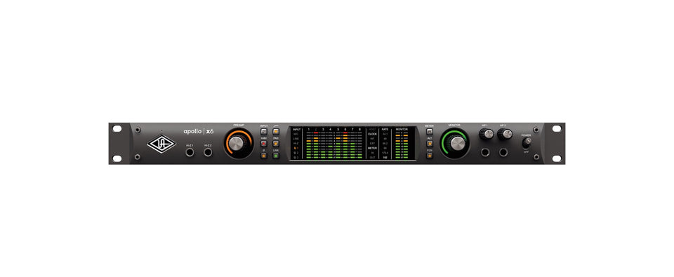 Universal Audio Apollo x6 Thunderbolt 3 Audio Interface