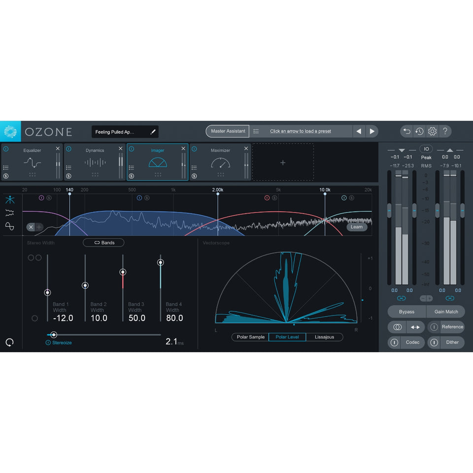 iZotope Ozone 9 Standard Mastering Software