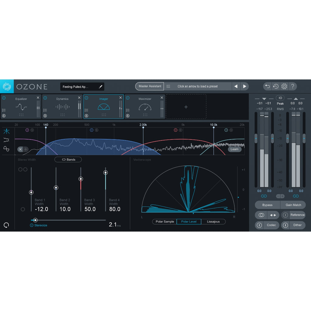 iZotope Ozone 9 Standard: Upgrade From Ozone 5-8 Standard/Ozone 5-8 Advanced