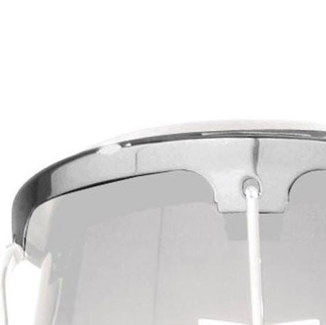 LP LP737B Comfort Curve 2 JR Conga Rim - Large, Chrome