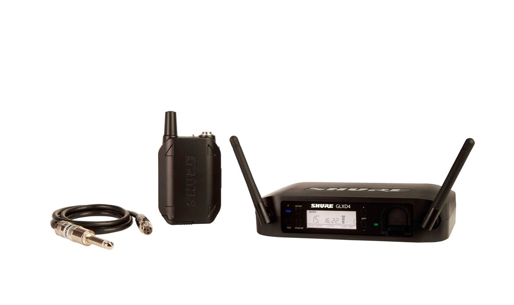 Shure GLXD14 2.4 GHz Instrument Digital Wireless System