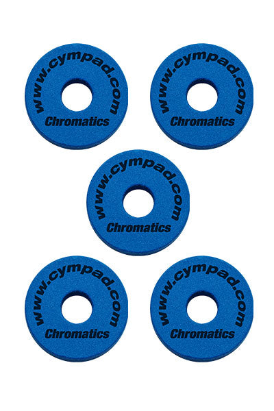 Cympad Chromatics Cymbal Enhancer Set - 40/15mm, Blue
