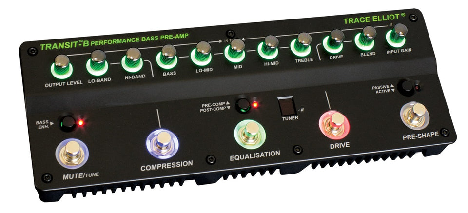 Trace Elliot Transit B Bass Preamp And Effects Unit