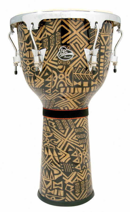 LP LPA632-SGC Aspire Djembe, Serengeti/Chrome