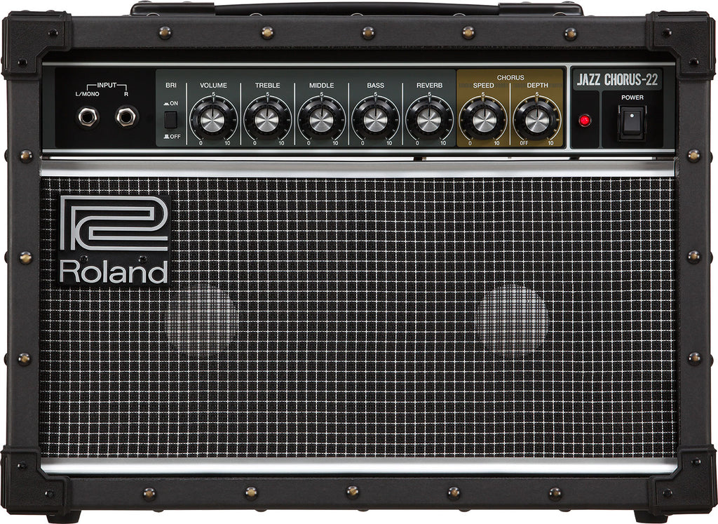 Roland JC-22 30W Jazz Chorus Guitar Combo Amplifier