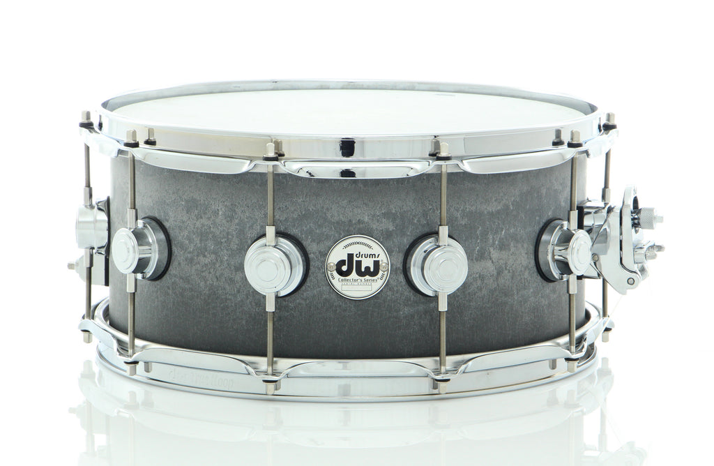 "Drum Workshop 14"" x 6.5"" Concrete Snare Drum W/ Chrome Hardware"