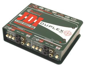Radial Engineering DUPLEX Stereo Direct Box with Jensen Transformers
