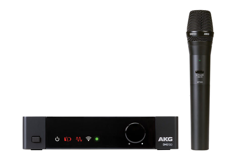 AKG DMS100 4-Channel 2.4GHz Digital Wireless Microphone System