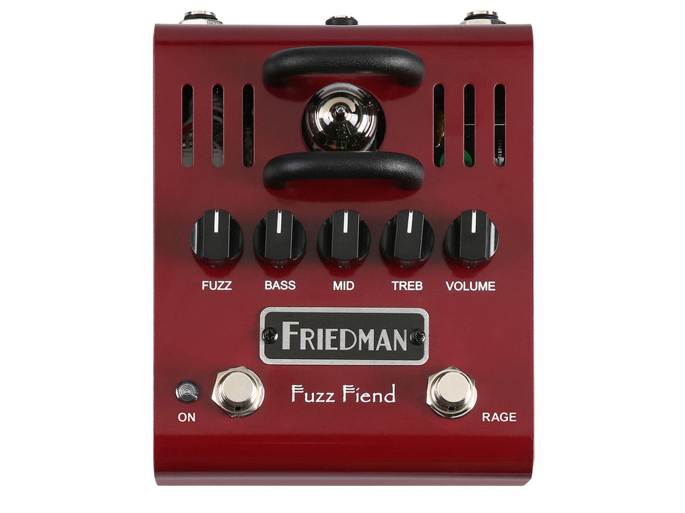 Friedman Fuzz Fiend W/ Extreme Switch 12AX7 Powered Fuzz Pedal