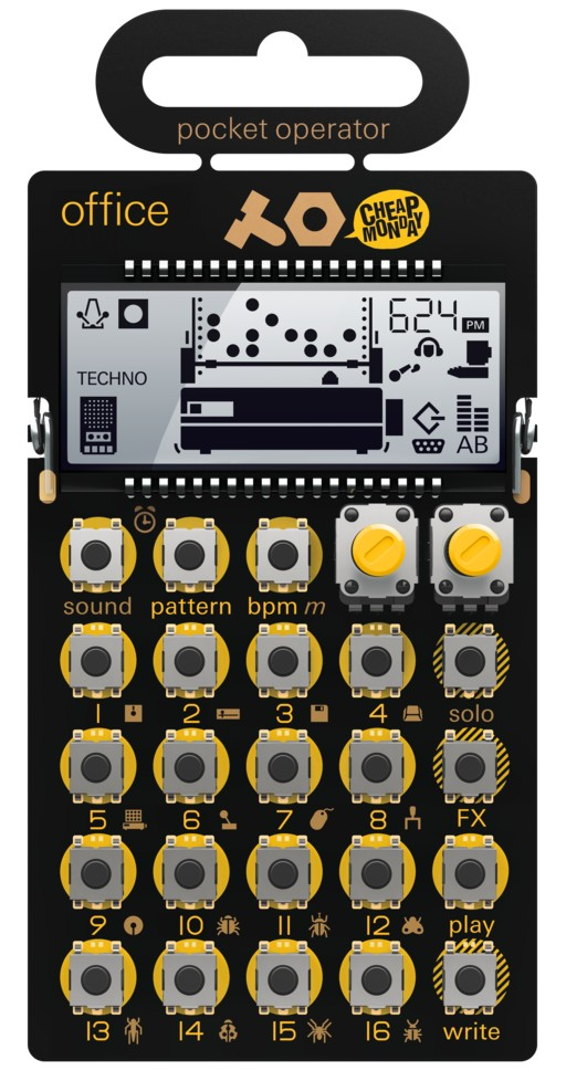 Teenage Engineering PO-24 Office Pocket Operator Drum Machine and Sequencer