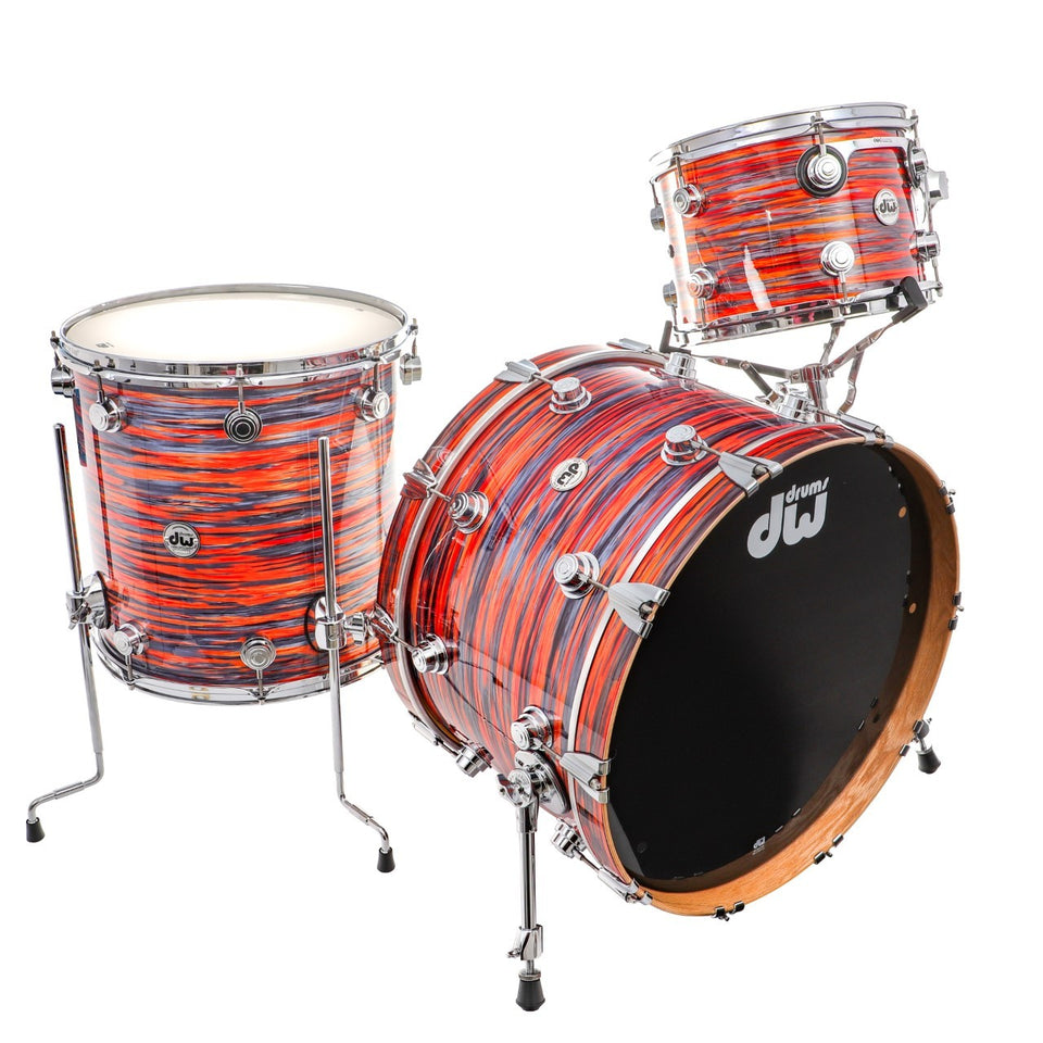 "DW Collector's Oak 3-Piece Drum Shell Pack w/ 22"" Kick - Tiger Oyster"