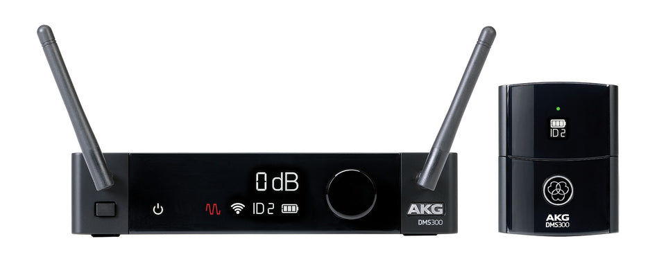AKG DMS300 8-Channel 2.4GHz Digital Wireless Instrument System