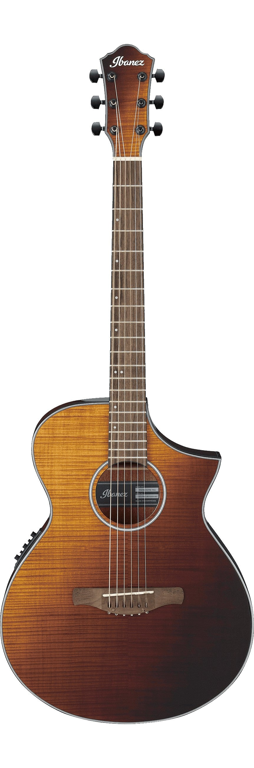 Ibanez AEWC32FM Thinline Acoustic Electric Guitar