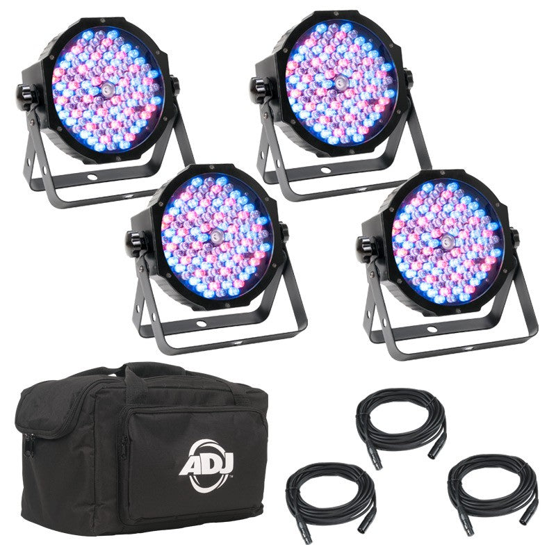 American DJ Mega Flat Pak Plus LED Par Lighting Package