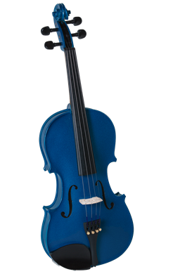 Cremona SV-130BU 42098 Violin Oufit in Blue 4/4