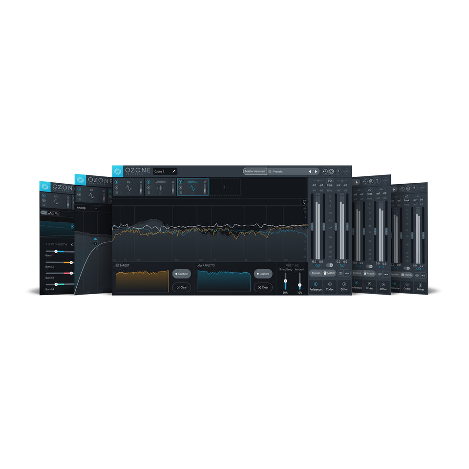 iZotope Ozone 9 Advanced Mastering Software: Upgrade From Ozone 5-8 Standard