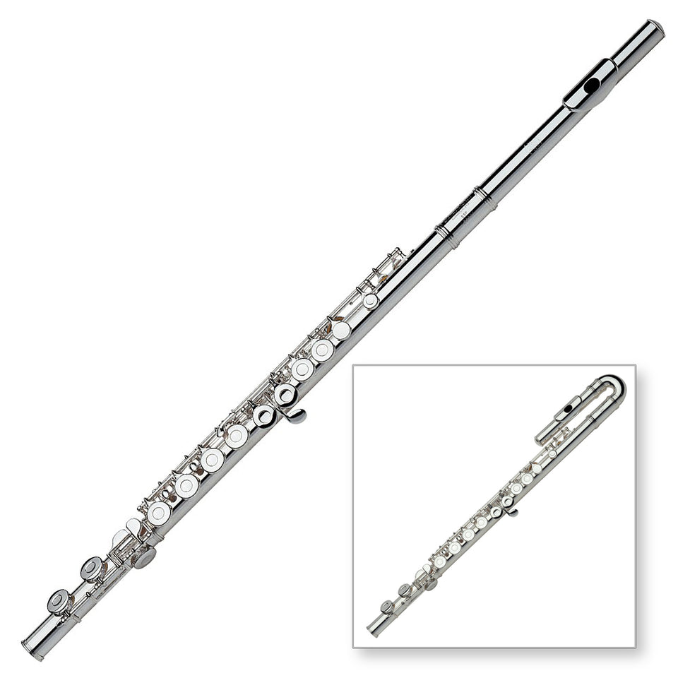 Gemeinhardt 2SPCH Student Flute - Straight And Curved Head Joints