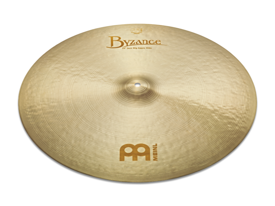 "Meinl 22"" Byzance Jazz Big Apple Ride Cymbal"