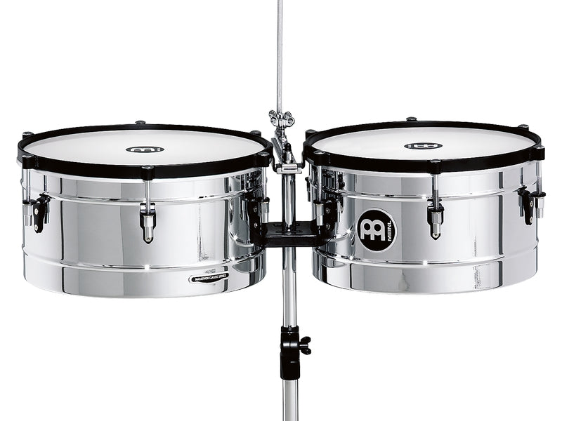 "Meinl MT1415CH Marathon Series Timbales 14"" & 15"" Chrome"