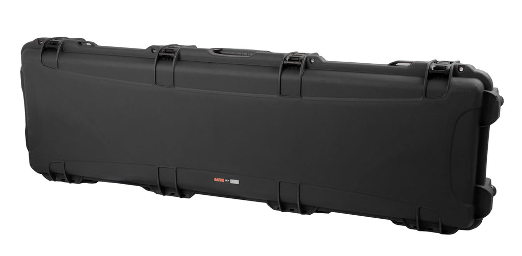 Gator Cases GWP-BASS ATA Impact/Water Proof Bass Guitar Case With Power Claw Latches, Fits Standard J/P Style