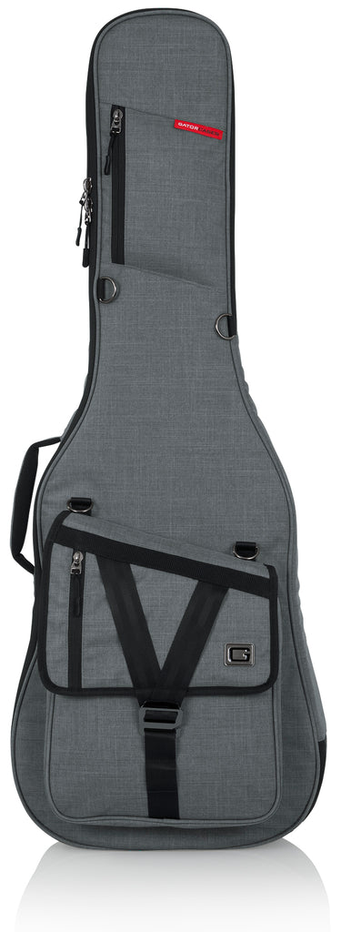 Gator GT-ELECTRIC-GRY Transit Electric Guitar Bag - Light Grey