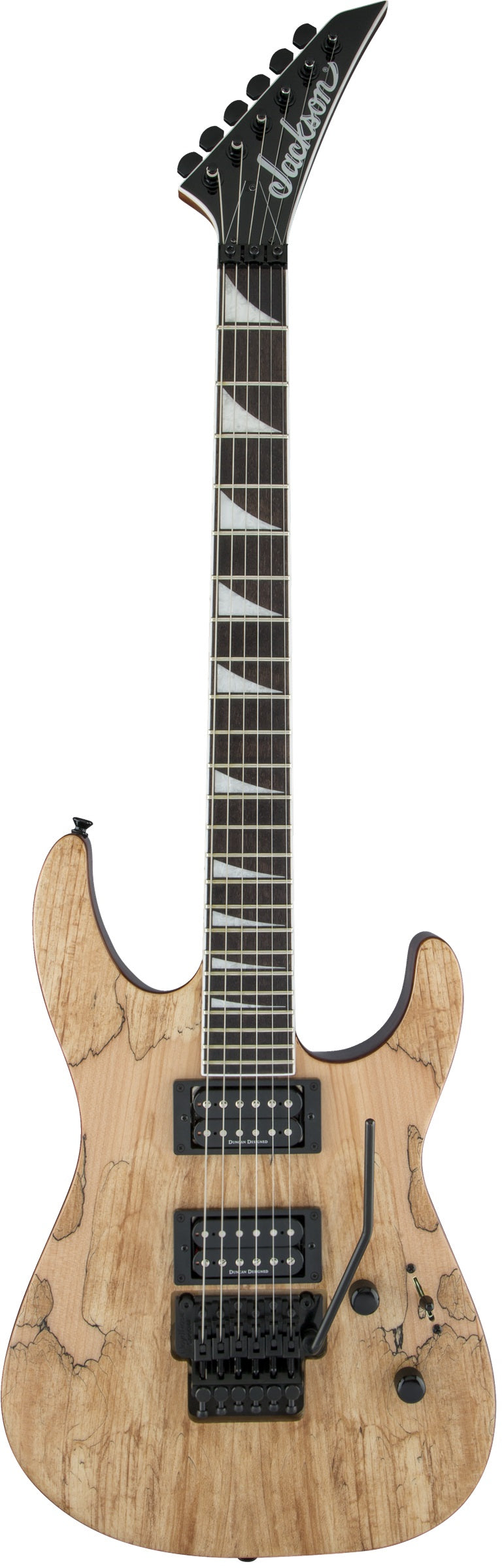 Jackson X Series Soloist SLX Electric Guitar - Dark Walnut Fingerboard, Spalted Maple