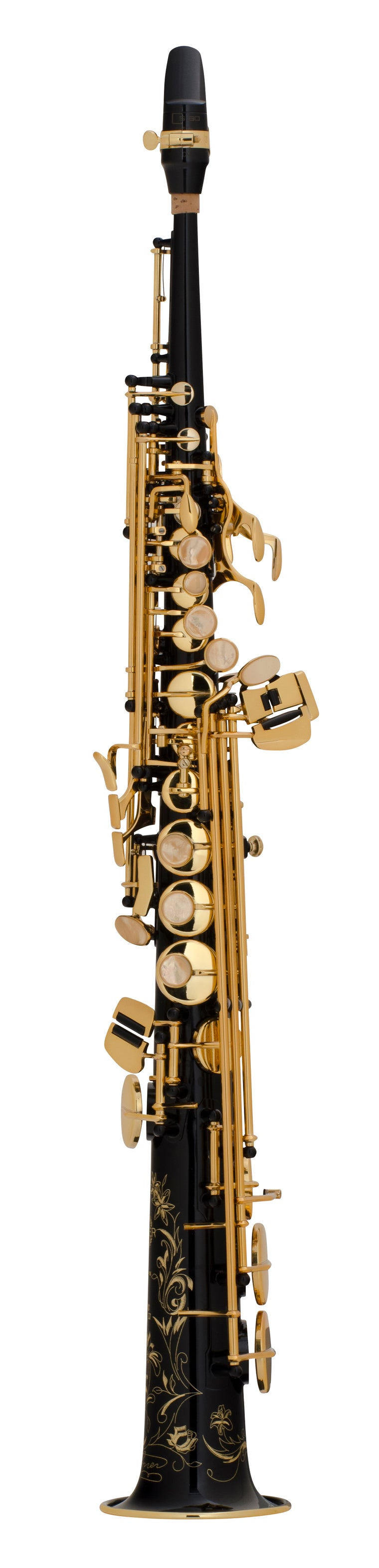 Selmer Super Action 80 Series II Soprano Saxophone - Black Lacquer
