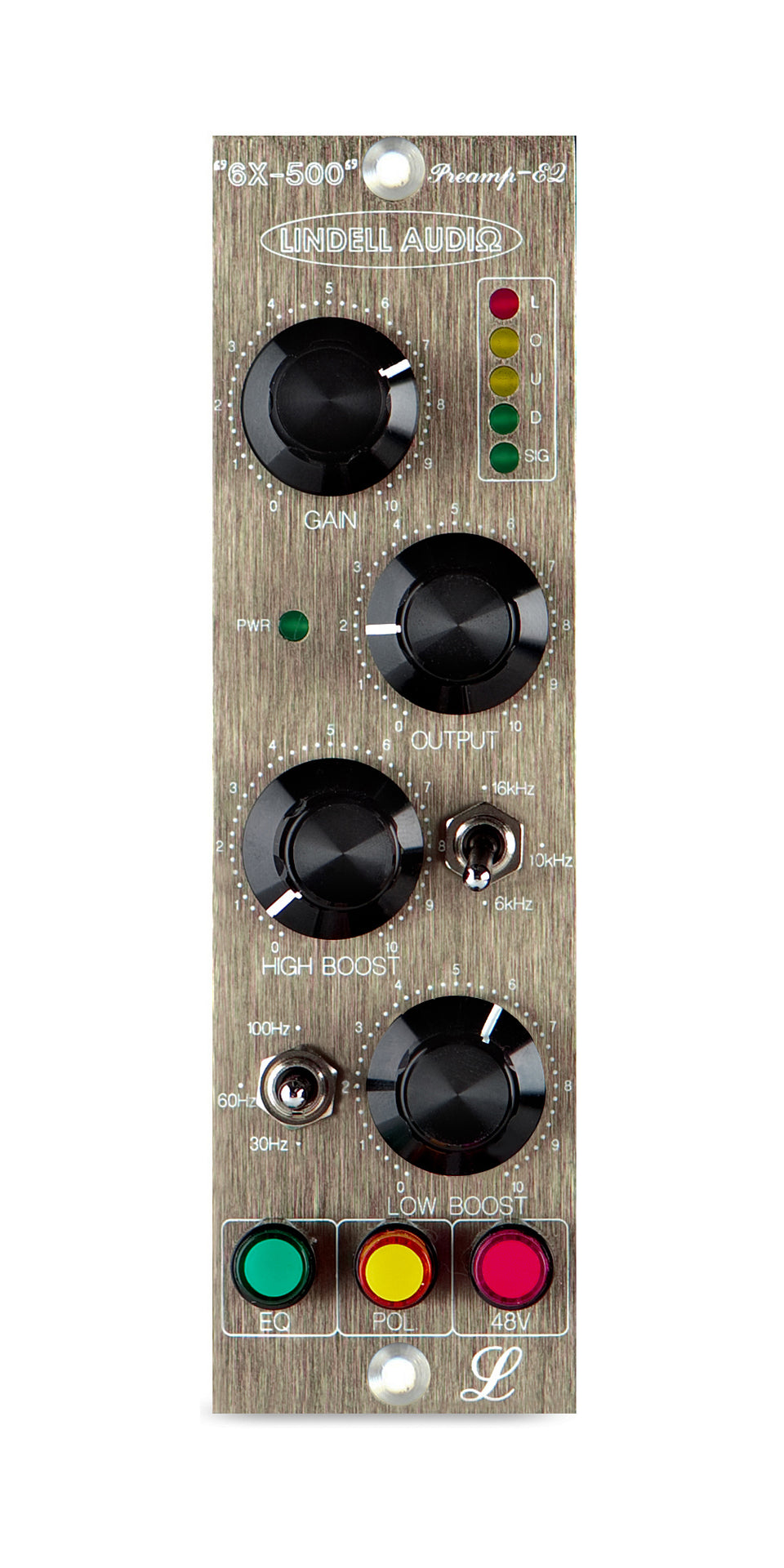 Lindell 6X-500 500 Series Microphone Preamplifier