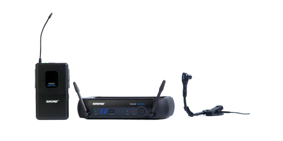 Shure PGXD14/BETA98H Digital Horn Wireless System - 900 MHz