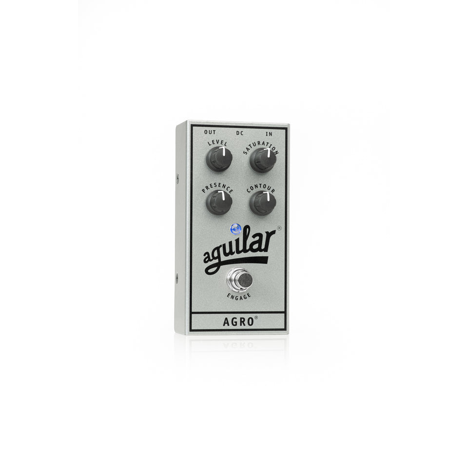 Aguilar 25th Anniversary AGRO Bass Overdrive Pedal - Limited Edition Silver