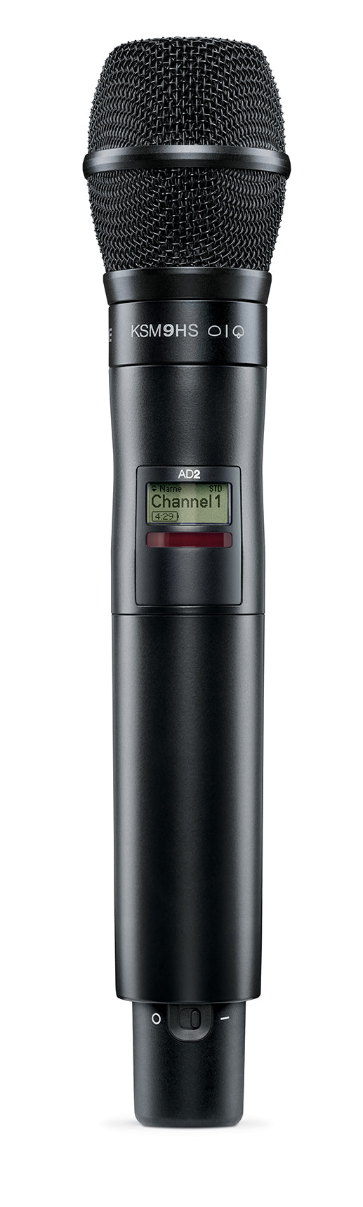 Shure AD2/K9HSB Axient Digital Handheld Transmitter W/ KSM9HS Cartridge - Black