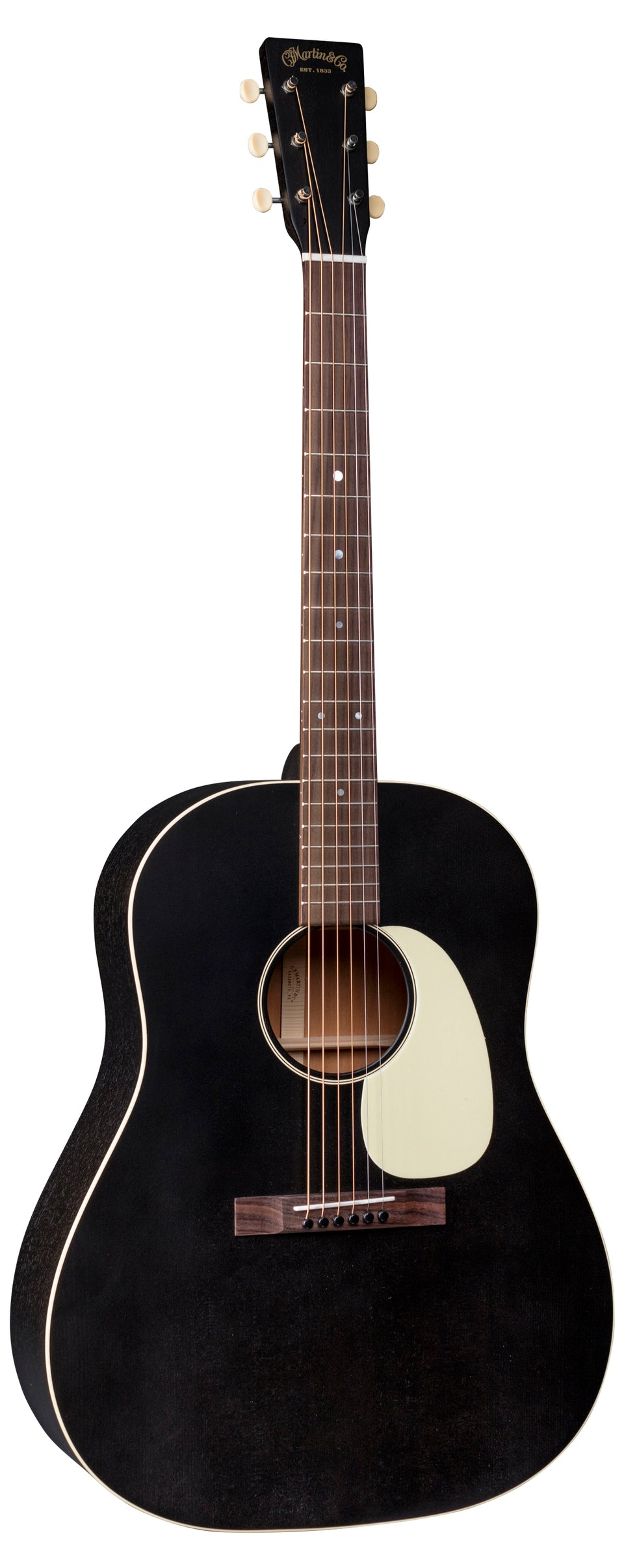 Martin DSS-17 Acoustic Guitar - Black Smoke