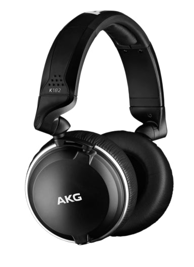 AKG K182 Professional Closed Back Monitor Headphones