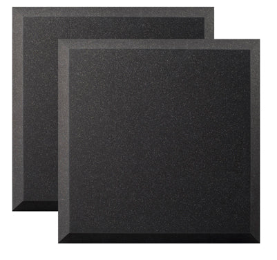 "Ultimate Support UA-WPB-24 Bevel-style Absorption Panel Professional Studio Foam - 24""x24""x2"" (Pair)"