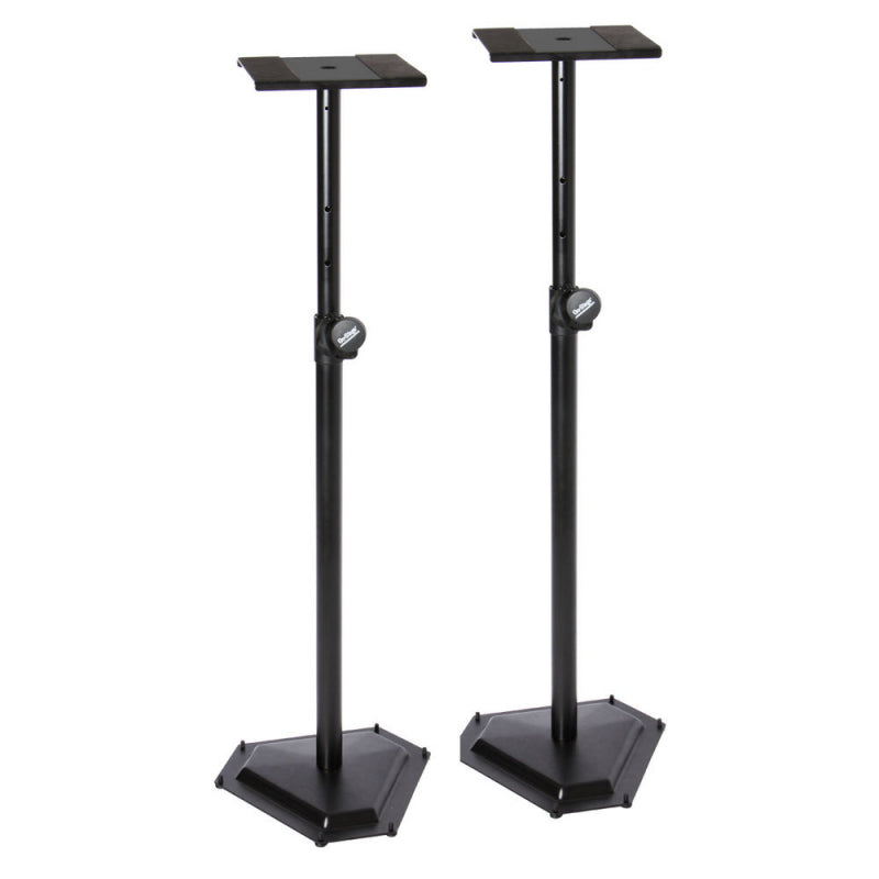 On Stage Stands SMS6600-P hex Base Studio Monitor Stand - Pair