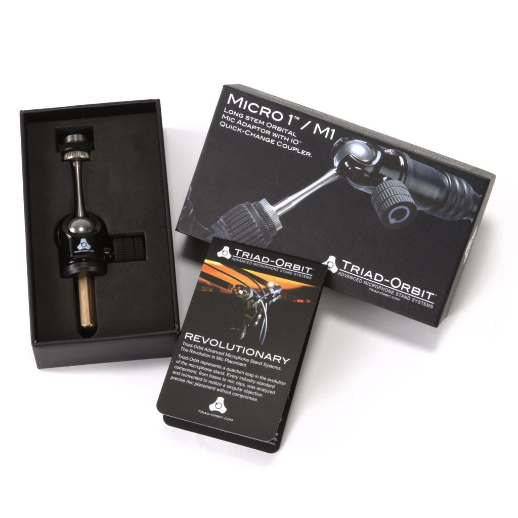 Triad-Orbit M1 Long Stem Hanging Mic Adaptor