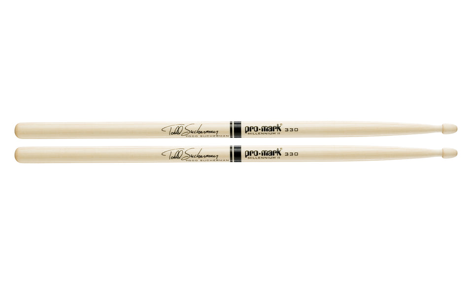 Promark SD330W Maple SD330 Todd Sucherman Wood Tip drumstick