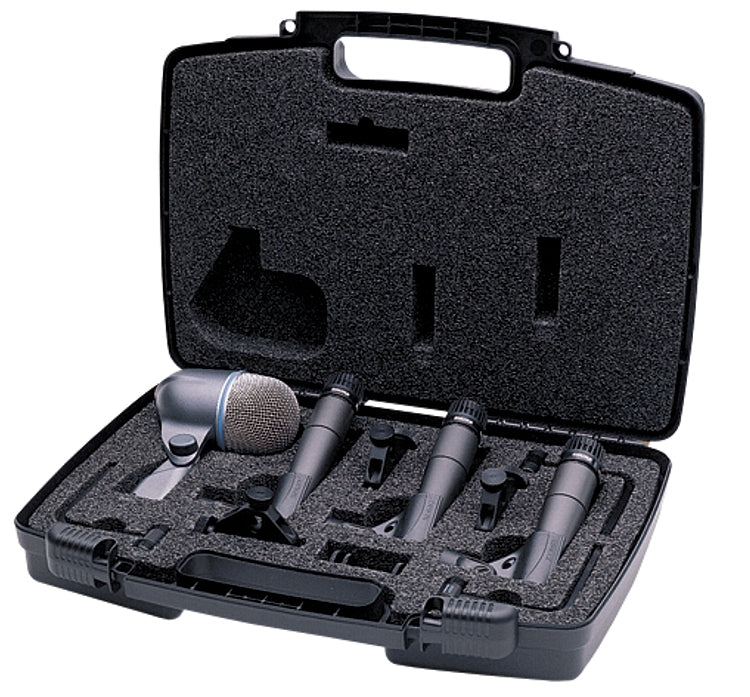 Shure DMK57-52 4 Piece Drum Microphone Kit
