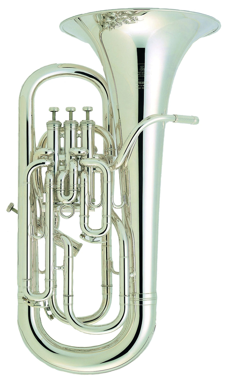 Besson BE967-2-0 B-Flat Euphonium - Silver Plated Sovereign Series