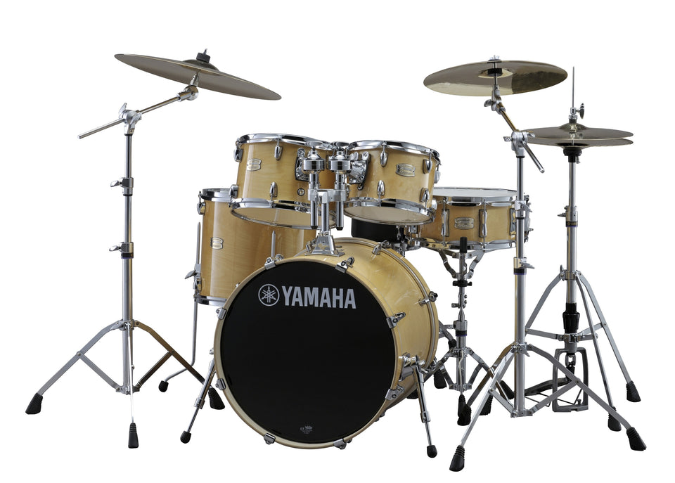 "Yamaha Stage Custom Birch 20"" Kick Drum Set W/ Hardware - Natural Wood"