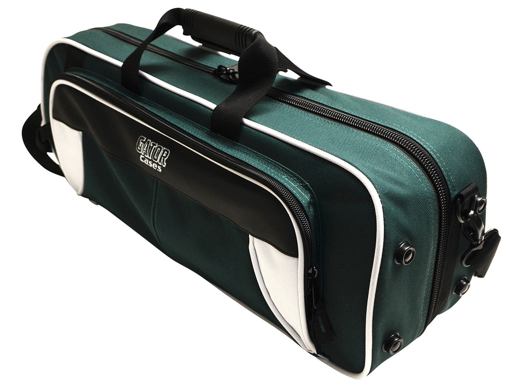 Gator GL-TRUMPET-WG Spirit Series Lightweight Trumpet Case, White And Green