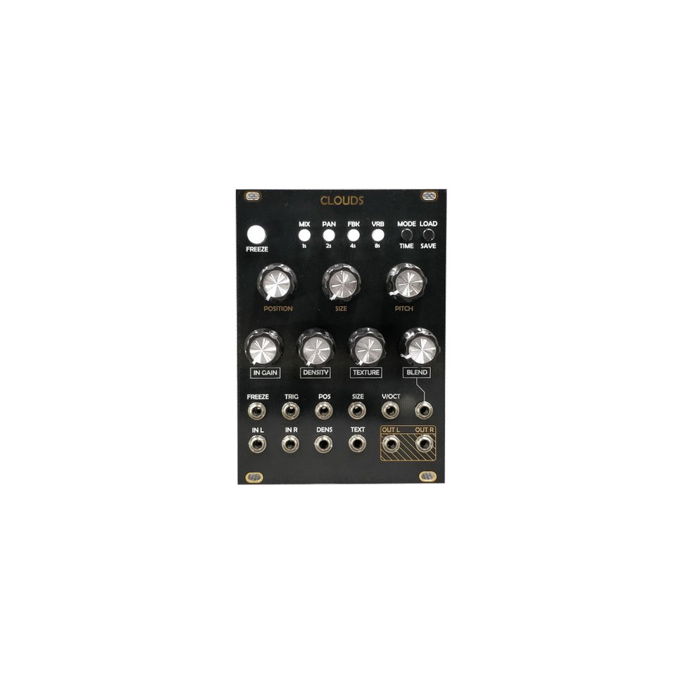 After Later Audio Clouds Clone Module - Black/Gold