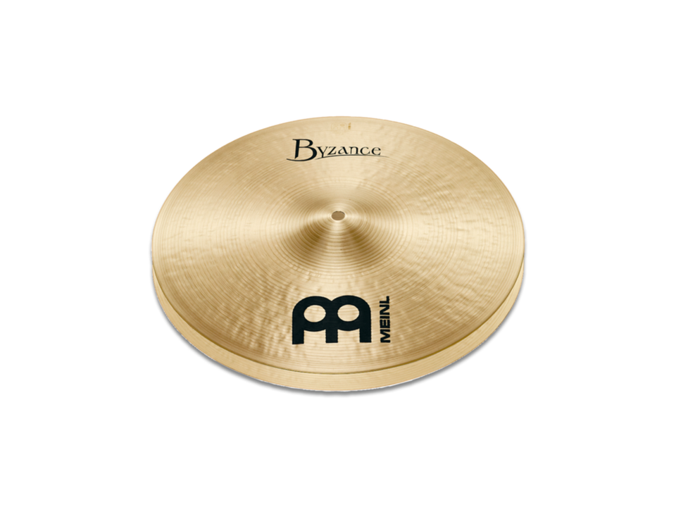 "Meinl 14"" Byzance Traditional Heavy Hi-Hat Cymbals"