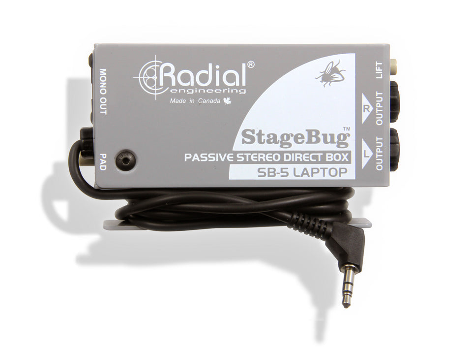 Radial Engineering StageBug SB-5 Laptop DI Box