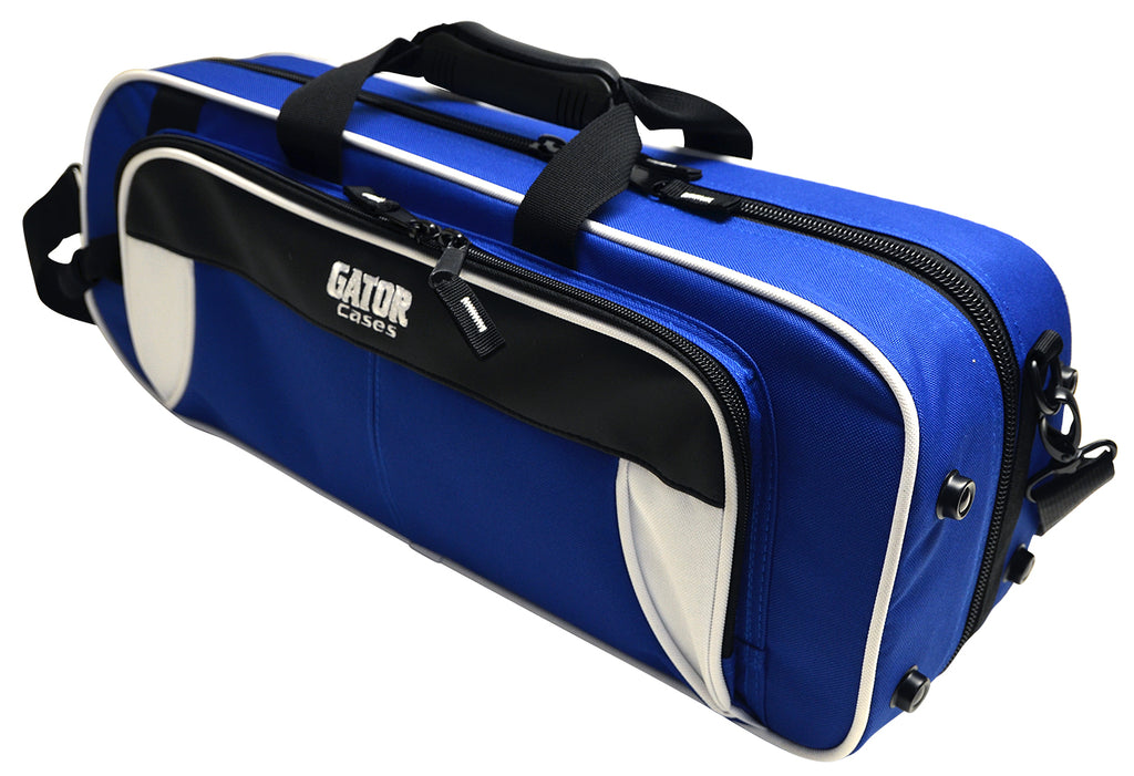Gator GL-TRUMPET-WB Spirit Series Lightweight Trumpet Case, White And Blue