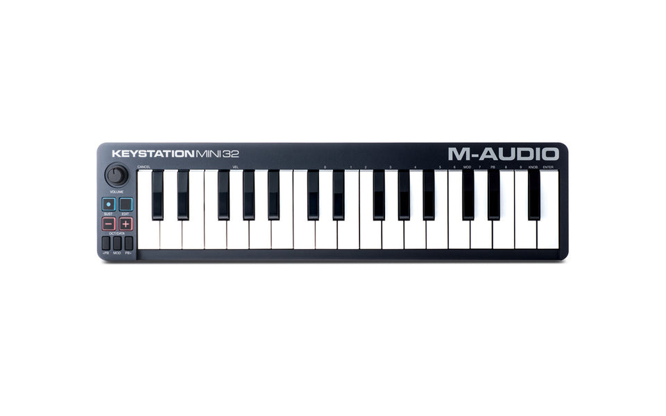 M-Audio Keystation Mini 32 32-Key Portable MIDI Keyboard Controller