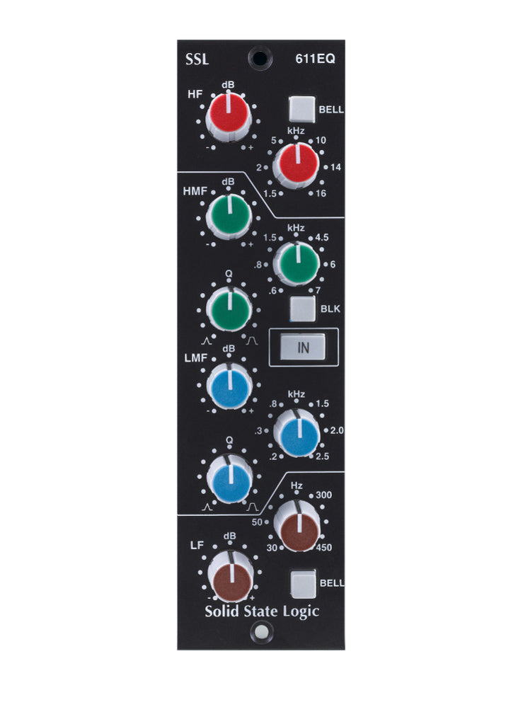 Solid State Logic 611EQ 500 Series Equalizer Module