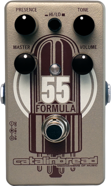 Catalinbread Formula No. 55 Tweed Deluxe Emulator Pedal
