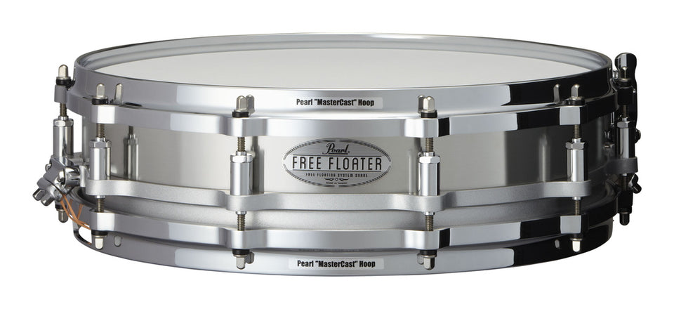 "Pearl 14"" x 3.5"" Stainless Steel Free Floating Snare Drum"