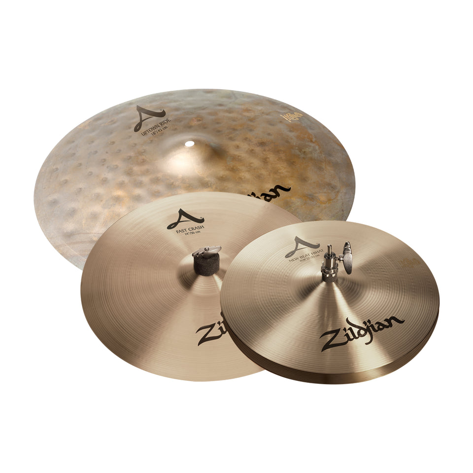Zildjian A City Pack 4 Piece Cymbal Pack